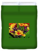 Tropical Warmth Duvet Cover