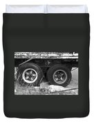 Truck Tires Duvet Cover