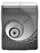 Tulip Staircase Duvet Cover by Julian Perry