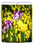 Tulips Garden Duvet Cover