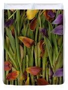 Tulips Wilting Duvet Cover