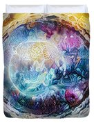 Tunnel To The Moon Duvet Cover