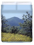 143419-turk Mountain Overlook  Duvet Cover
