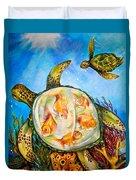 Turtle Tank Duvet Cover