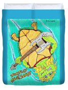 Turtley Awesome Duvet Cover