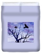 Twilight Flight Duvet Cover