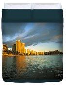 Twilight Waikiki Duvet Cover
