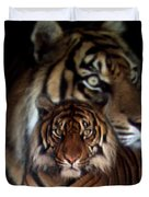 Twin Souls Duvet Cover
