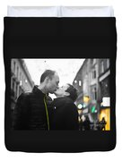 Ula And Wojtek Engagement 8 Duvet Cover