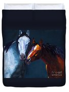 Unbridled Love Duvet Cover