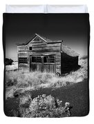Under The Weight Of It All Duvet Cover by Mike  Dawson