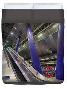 Underground Escalator Duvet Cover