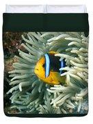 Underwater Close-up Duvet Cover