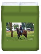 Union Cavalryman Duvet Cover