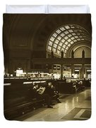 Union Station, Washington Dc 1963 Duvet Cover