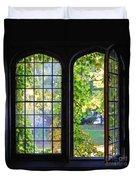University Windows Duvet Cover