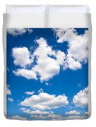 Up In The Sky Duvet Cover