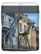 Up The Stairs Duvet Cover