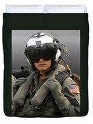 U.s. Navy Aviation Warfare Systems Duvet Cover by Stocktrek Images