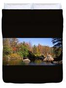 Usa, New York, Adirondack State Park Duvet Cover