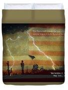 Usa Patriotic Operation Geronimo-e Kia Duvet Cover