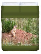 Utah Prairie Dog Duvet Cover