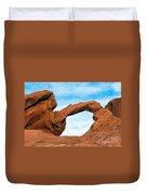 Valley Of Fire State Park Arch Rock Duvet Cover