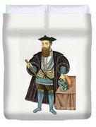 Vasco Da Gama, Portuguese Explorer Duvet Cover