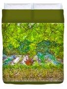 Vegetable Garden Duvet Cover