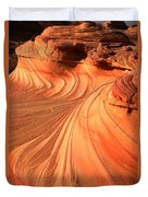 Vermilion Cliffs Dragon Duvet Cover