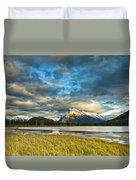 Vermilion Lakes Duvet Cover