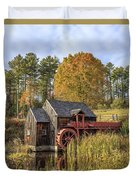 Vermont Grist Mill Duvet Cover