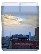 View From The High Line Duvet Cover