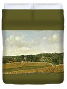 View Of Chatenay Duvet Cover