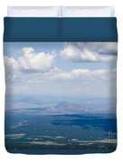 Views From The Pikes Peak Highway Duvet Cover