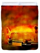 Vintage Car 2 Neons Edition Duvet Cover