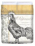 Vintage Farm 1 Duvet Cover by Debbie DeWitt