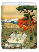 Vintage Poster - Norway Duvet Cover