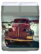 Vintage Studebaker Truck Duvet Cover