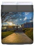 Virginia War Memorial Duvet Cover