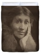 Virginia Woolf Duvet Cover