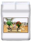 Virtual Exhibition 22 Duvet Cover