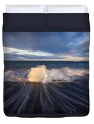 Voices Of Tides Duvet Cover