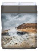 Volcanic Landscape Duvet Cover
