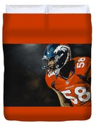 Von Miller Duvet Cover by Don Medina
