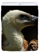 Vulture. Gyps Fulvus Duvet Cover