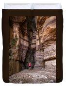 Wadi Zered, Western Jordan. Duvet Cover