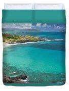 Waimanalo Coast Duvet Cover
