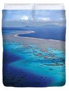 Wakaya Island Aerial Duvet Cover