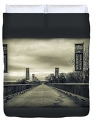 Walkway Over The Hudson Duvet Cover
